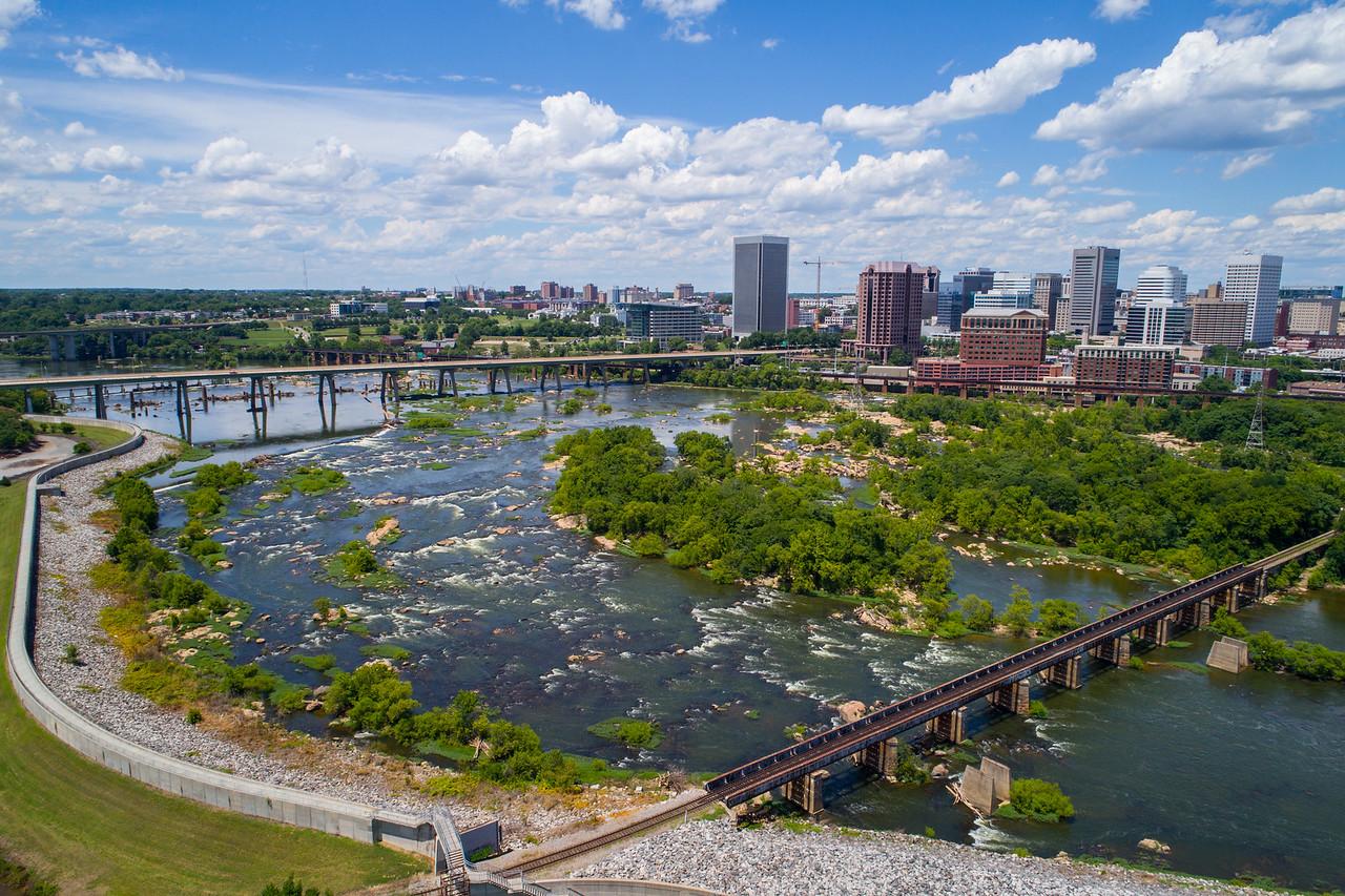 Aerial photo Richmond VA