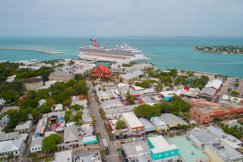 Key West Florida aerial image