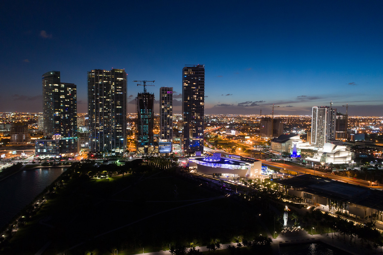 Aerial image Downtown Miami Museum Park