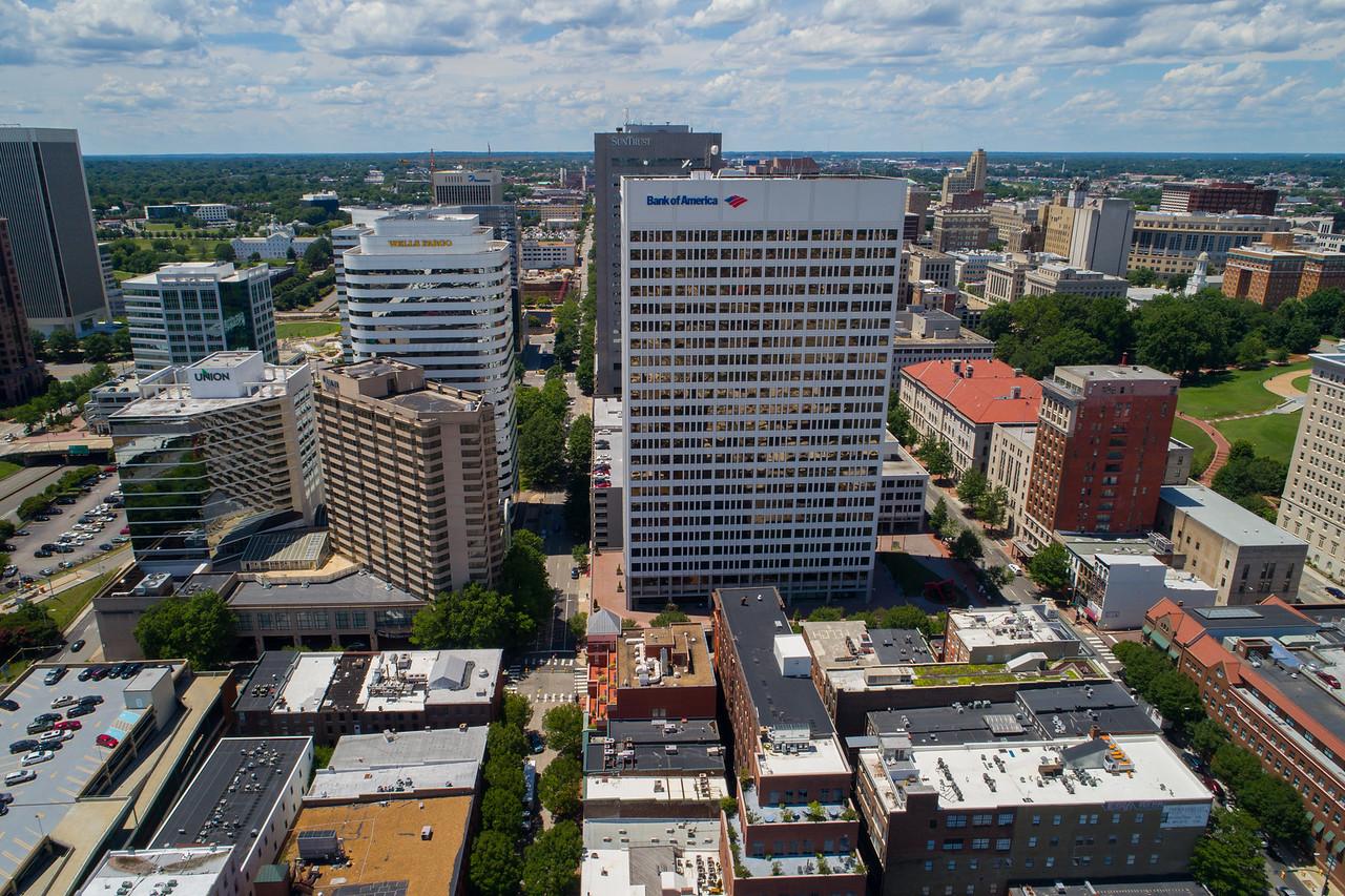 Bank buildings Downtown Richmond VA