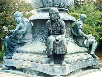 Robbins Memorial by Cyrus Dallin