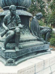 Robbins Memorial Statue by Cyrus Dallin
