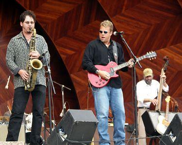 Blues Jam: Sax Gordon, Chris Fitz, Michael Ward