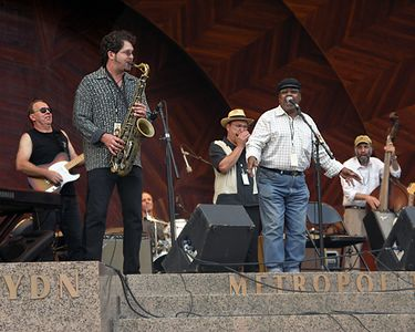 Blues Jam: Sax Gordon, Sugar Ray Norcia, Shorty, Michael Ward