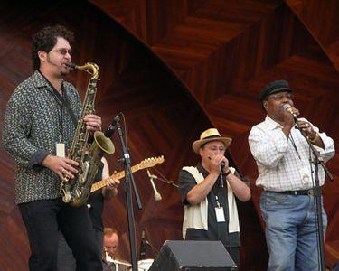 Blues Jam: Sax Gordon, Shorty, Sugar Ray Norcia