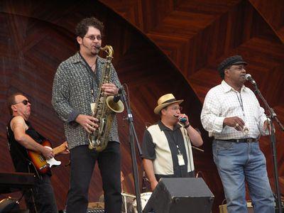 Blues Jam: Sax Gordon, Sugar Ray Norcia, Shorty