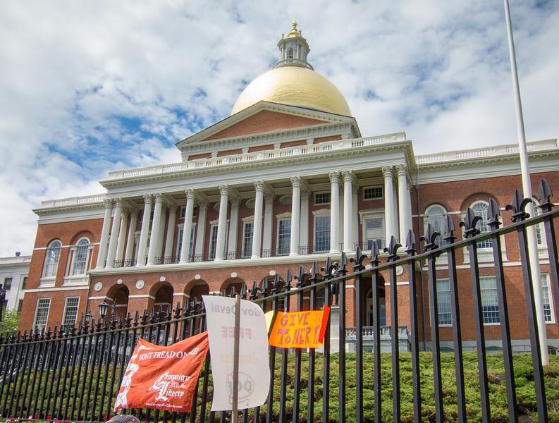 Massachusetts State House, Beacon Hill, Boston