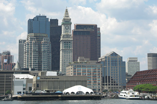 Near Long Wharf, Boston Harbor
