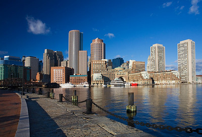 Boston from Fan Pier