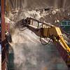 demolishing Congress St bridge counterweight
