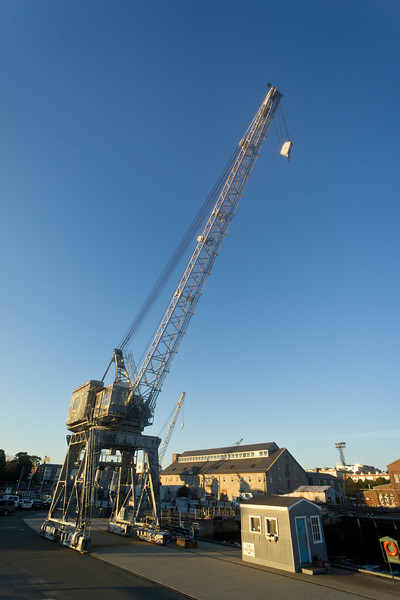 huge crain Charlestown Navy Yard