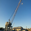 huge crain Charlestown Navy Yard