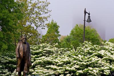 Edward Everett Hale & blossoms