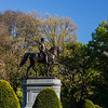 father of our country in the Public Garden