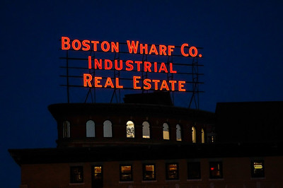 Boston Wharf Co  Industrial Real Estate indigo sky