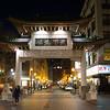 Chinatown Gate at night