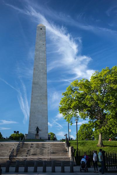 vertical Bunker Hill Monument