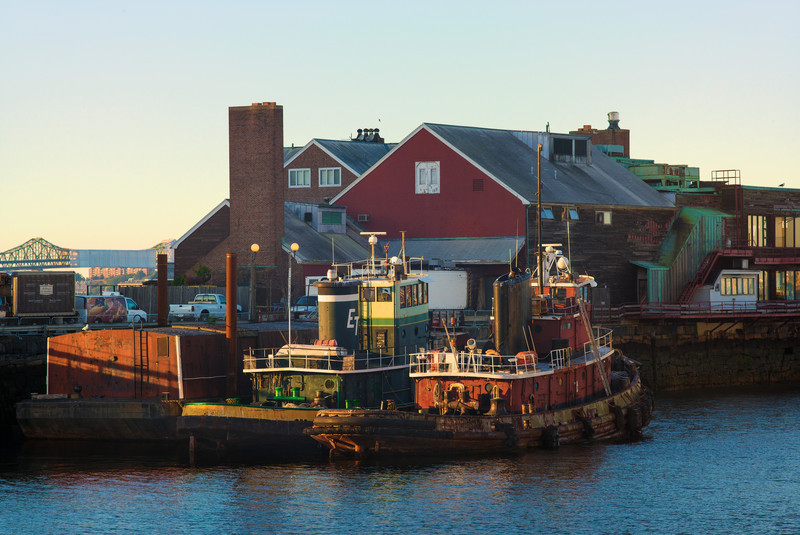 two tugboats at Anthony's Pier 4