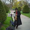 saxophonist Public Garden