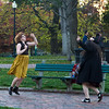 dancing girls Boston Common