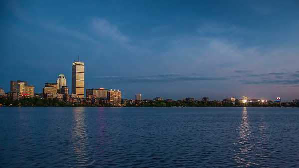Back Bay & Fenway twilight from MIT