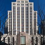 New England Telephone deco building
