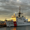 905 U S  Coast Guard cutter sunset