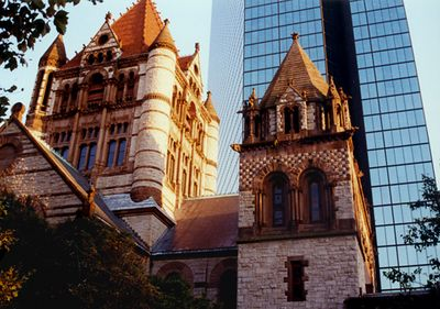 Trinity Church and John Hancock