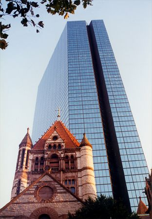 John Hancock Building and Trinity Church