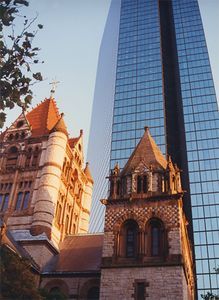 Trinity Church and John Hancock Building
