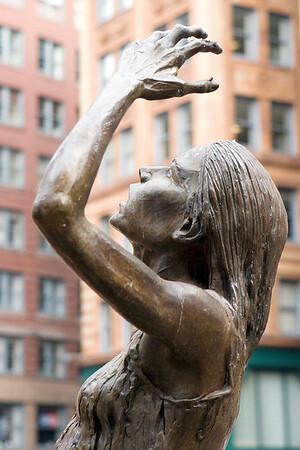 Irish Famine Sculpture