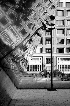 Urban Reflections Portrait