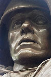 Korean War veterans statue