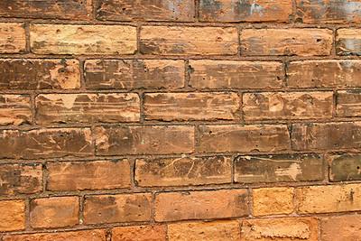 Wall near Charlestown dock