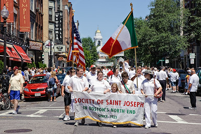 Boston's North End St. Joseph Society Feast Celebration Parade