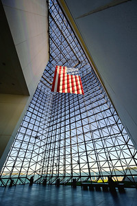 JFK Library Pavilion Flag