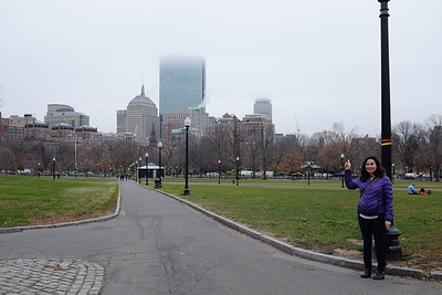 Fog on the Hancock and Prudential Towers