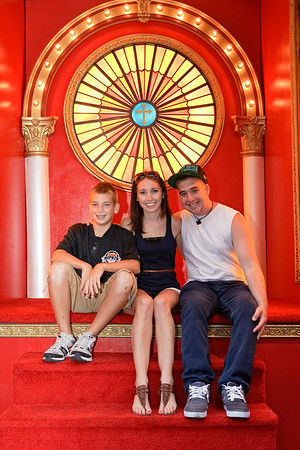 Jake, Meghan and Matthew