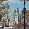 Boston Skyline from East Boston vert #1