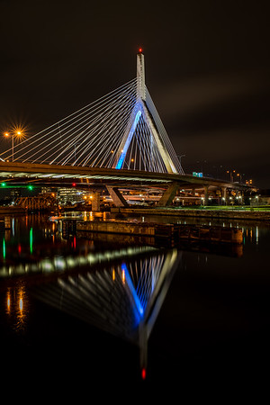 Zakim Bridge reflection
