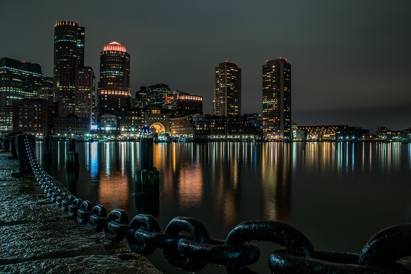 Chains of the Boston Harbor