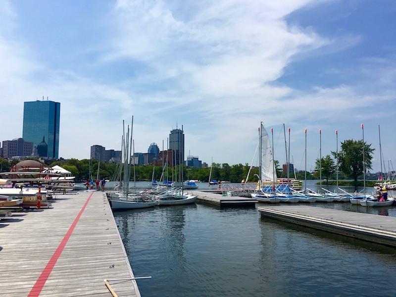 Community Boating in Boston, Massachusetts