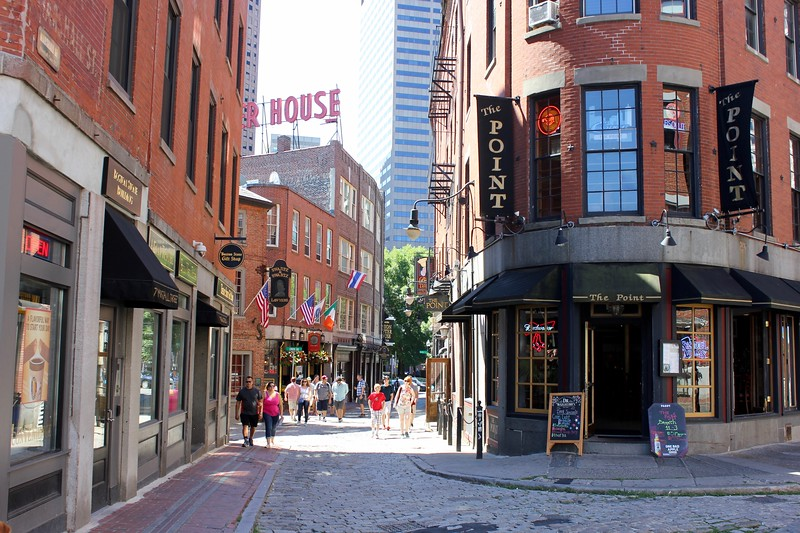 Union Oyster House and bars in Boston, Massachusetts