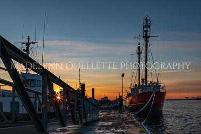 Good Morning from Boston Harbor