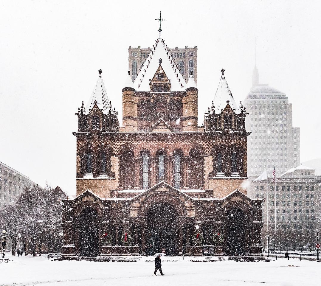 Copley Square Snow Day
