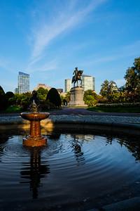 Fountain in the Public Garden