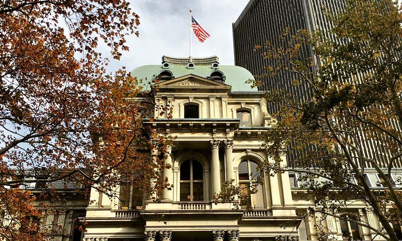 Boston's Old City Hall in Boston, Massachusetts