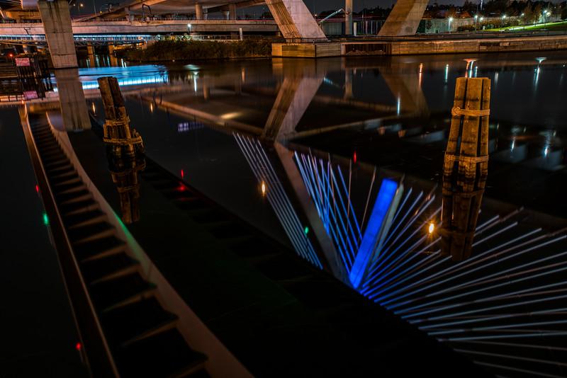Under the Zakim Bridge