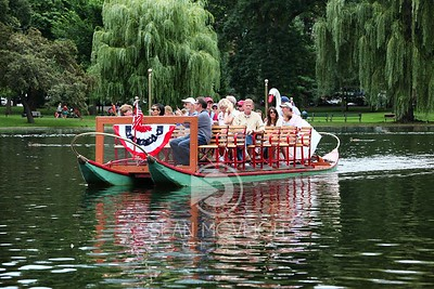 The Famous Swan Boats in the Public Gardens