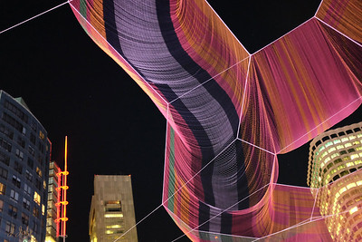 Boston's Rose Kennedy Greenway Aerial Sculpture